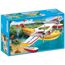 Playmobil 5560 : Hydravion Des Aventuriers - Wild Life licence officielle jeux idée cadeau anniversaire noël neuf