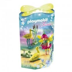Playmobil 9138 Fairies - Fée avec Cigognes licence officielle idée cadeau anniversaire noël neuf