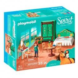 Playmobil 9476 - Spirit - Chambre de Lucky 35 pièces licence officielle idée cadeau anniversaire noël neuf
