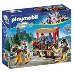 Playmobil 6695 Super 4 Royal Tribune Avec Alex licence officielle idée cadeau anniversaire noël neuf