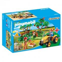 Playmobil - 6870 Couple de Fermiers avec Véhicule licence officielle idée cadeau anniversaire noël neuf
