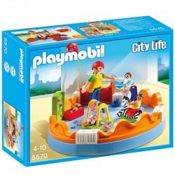 Playmobil City Life 5570 - Espace crèche avec bébés licence officielle idée cadeau anniversaire noël neuf