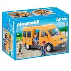 Playmobil - 6866 - Jeu - Bus Scolaire licence officielle idée cadeau anniversaire noël neuf