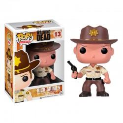POP 13 figurine The Walking Dead Rick Grimes licence officielle Funko idée cadeau anniversaire noël neuf