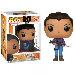 POP 577 figurine The Walking Dead Sasha licence officielle Funko idée cadeau anniversaire noël neuf