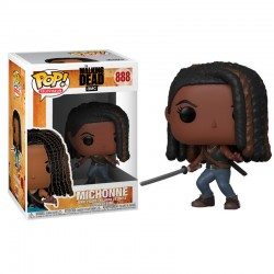 POP 888 figurine The Walking Dead Michonne licence officielle Funko idée cadeau anniversaire noël neuf