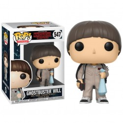 POP 547 figurine Stranger Things Ghostbuster Will licence officielle Funko idée cadeau anniversaire noël neuf
