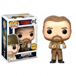 POP 512 figurine Stranger Things Hopper Chase licence officielle Funko idée cadeau anniversaire noël neuf