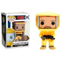 POP 525 figurine Stranger Things Hopper in Bio Hazard Suit Exclusive licence Funko idée cadeau anniversaire noël neuf
