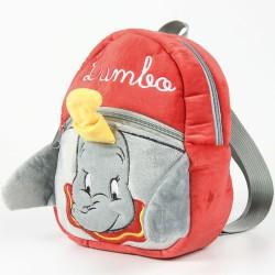 Sac à dos cartable en peluche Disney Dumbo 22cm licence scolaire maternelle enfant neuf