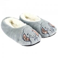 Paire de chaussons tout doux hiver Disney Dumbo 36/41 ados adulte idée cadeau neuf