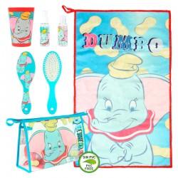 Ensemble salle de bain 6 pièces enfant sacoches + accessoires Dumbo licence Disney idée cadeau anniversaire noël neuf