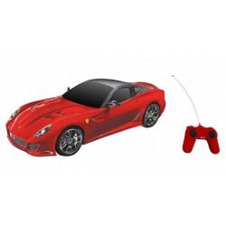 Voiture RC Radiocommandée collection Ferrari 599 GTO rouge 1/24e MONDO motors idée cadeau anniversaire noel neuve