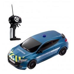 Voiture RC Radiocommandée collection MEGANE RS GENDARMERIE 1/14e MONDO motors idée cadeau anniversaire noel neuve