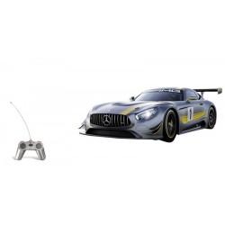 Voiture radiocommandé 1/24 ème collection MERCEDES AMG GT3 IDEE CADEAU ANNIVERSAIRE NOEL NEUVE