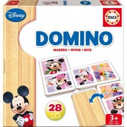 Jeu de domino en bois Mickey Minnie licence officielle Disney marque EDUCA idée cadeau anniversaire noël neuve