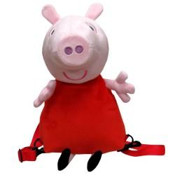 Sac à dos en peluche 3D Peppa Pig licence officielle maternelle sortie neuf