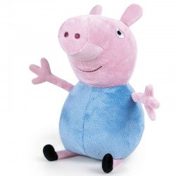 Peluche Peppa Pig George 45cm licence officielle idée cadeau anniversaire noël neuve