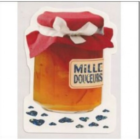 Carte postale NEUVE - MILLES DOUCEURS