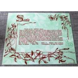 """Signification du prénom """" SONIA """" idée cadeau fête des mères grand mères anniversaire noel Neuf"""