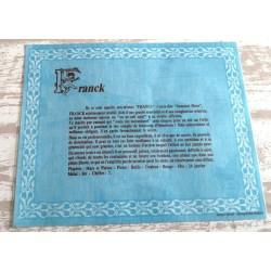 """Signification du prénom """" FRANCK """" idée cadeau original fête des pères grands pères noel neuf"""