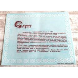 """Signification du prénom """" GRÉGORY """" idée cadeau original fête des pères grands pères noel neuf"""