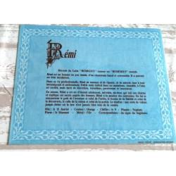 """Signification du prénom """" RÉMI """" idée cadeau original fête des pères grands pères noel neuf"""