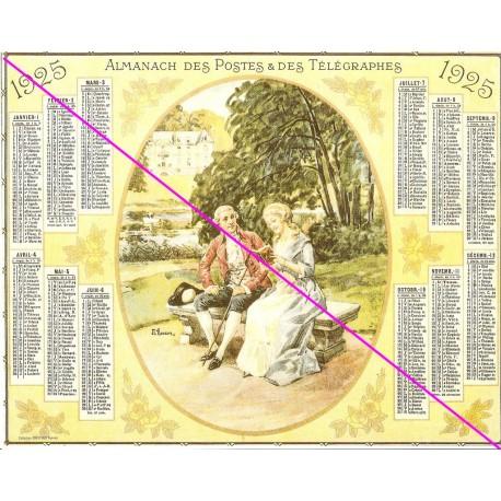 Calendrier de naissance plastifié année 1925 Idée cadeau original anniversaire fête noël neuf