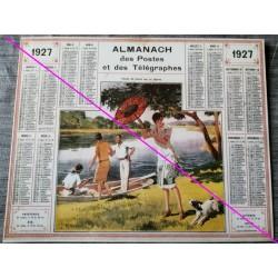 Calendrier de naissance plastifié année 1927 Idée cadeau original anniversaire fête noël neuf