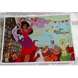 Cartes postale sans enveloppe Disney le bossu de notre dame v03 enfant fête anniversaire neuve
