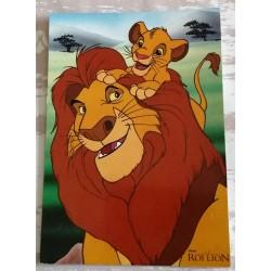 Cartes postale sans enveloppe Disney le roi lion v03 enfant fête anniversaire neuve