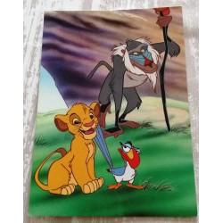 Cartes postale sans enveloppe Disney le roi lion v05 enfant fête anniversaire neuve