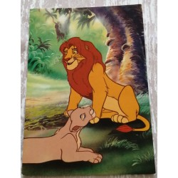 Cartes postale sans enveloppe Disney le roi lion v08 enfant fête anniversaire neuve