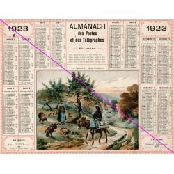 Calendrier de naissance plastifié année 1923 V02 Ideé cadeau original anniversaire fête noël neuf