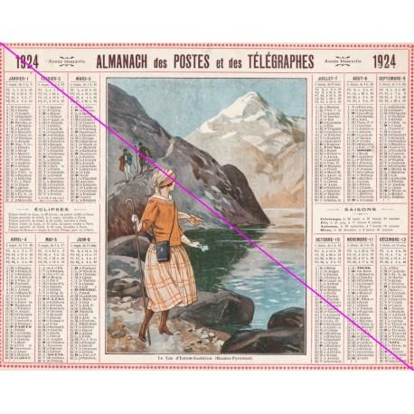 Calendrier de naissance plastifié année 1924 v2 Idée cadeau original anniversaire fête noël neuf