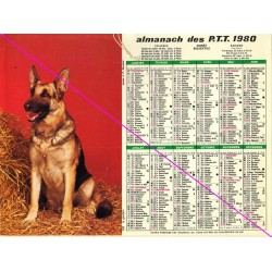 Calendrier de naissance plastifié année 1980 v02 Idée cadeau original anniversaire fête noël neuf