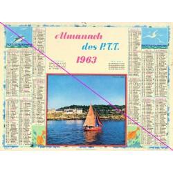 Calendrier de naissance plastifié année 1963 v02 Idée cadeau original anniversaire fête noël neuf