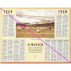 Calendrier de naissance plastifié année 1960 Idée cadeau original anniversaire fête noël neuf