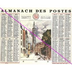Calendrier de naissance plastifié année 1948 Idée cadeau original anniversaire fête noël neuf