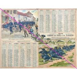 Calendrier de naissance plastifié année 1916 v02 Idée cadeau original anniversaire fête noël neuf