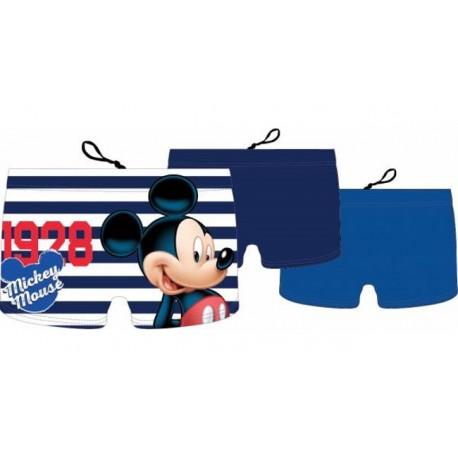 Boxer Short Maillot de bain garcon Mickey licence officielle Disney 1 pièces du 2/3 au 5/6 ans piscine plage NEUF