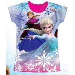 T Shirt manches courtes Frozen La Reine des Neiges du 2 au 6 ans licence officielle Disney VETEMENT NEUF