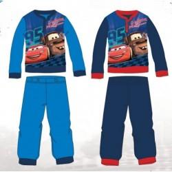 Ensemble Pyjama polaire long Cars bleu du 3 au 8 ans ENFANT GARCON VETEMENT SOUS LICENCE OFFICIELLE DISNEY NEUF