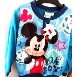 Ensemble Pyjama polaire Mickey bleu du 3 au 8 ans GARCON VETEMENT LICENCE OFFICIELLE DISNEY NEUF