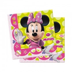 Lot de 20 serviettes papiers Minnie licence Disney gouter d'anniversaire fête enfant neuve