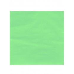 Lot de 50 serviettes vert anis 38 x 38 cm anniversaire mariage baptême retraite neuve