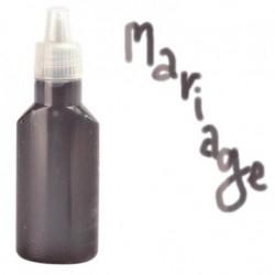 Encre pailletée noire décoration anniversaire mariage baptême retraite scrapbooking neuve