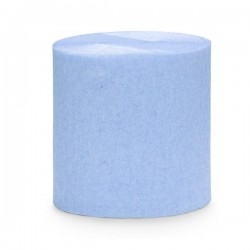 Rouleau de papier crépon Bleu ciel 10 m loisirs créatif scrapbooking décoration de table ou salle neuf