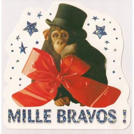 Carte postale NEUVE - MILLE BRAVOS