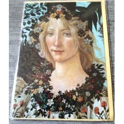 Carte postale avec enveloppe collection SANDRO BOTTICELLI le printemps neuve